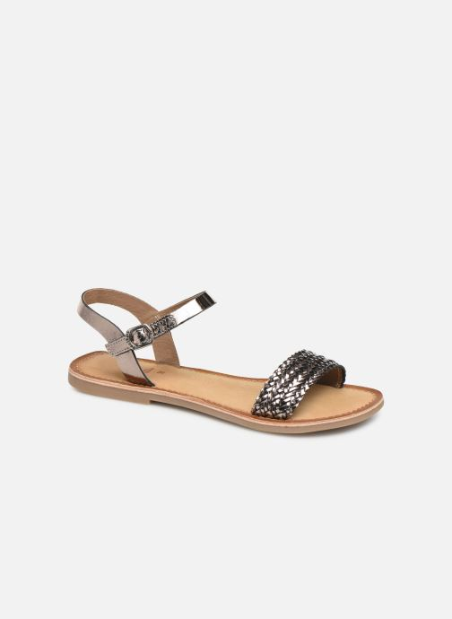 Sandals Gioseppo Graminea Silver detailed view/ Pair view