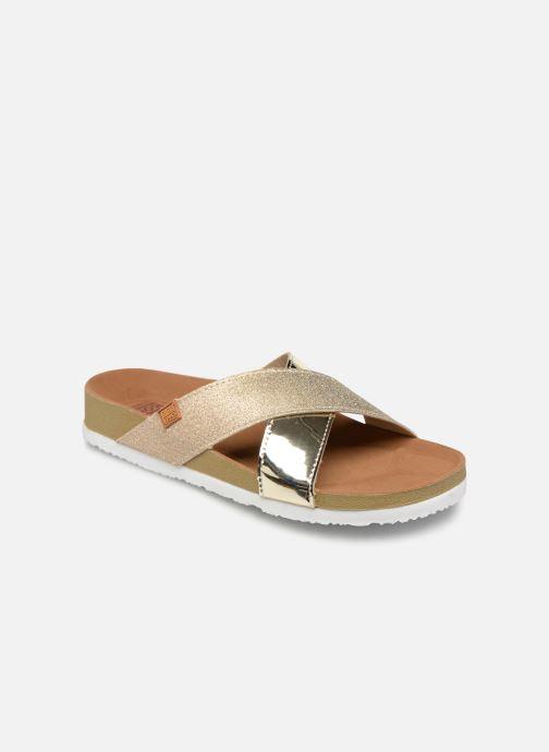 Sandales et nu-pieds Gioseppo Natasha Or et bronze vue détail/paire