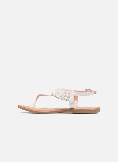 Sandales et nu-pieds Gioseppo Judith Blanc vue face