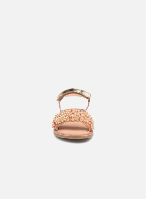 Sandales et nu-pieds Gioseppo Ingrid Or et bronze vue portées chaussures