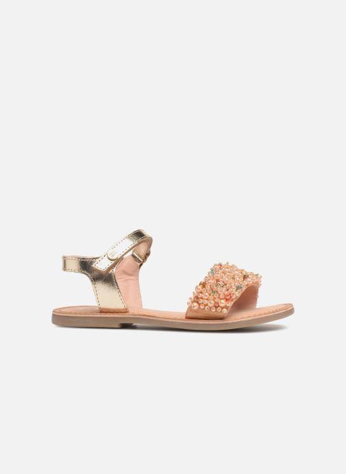 Sandales et nu-pieds Gioseppo Ingrid Or et bronze vue derrière