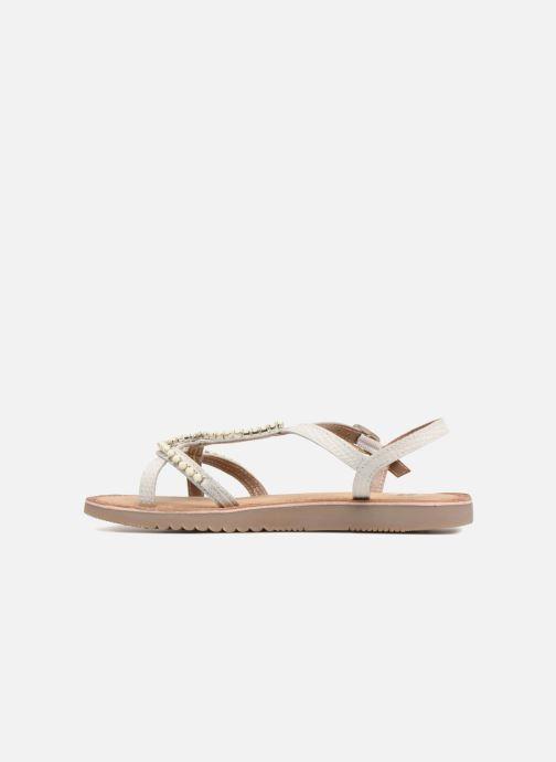 Sandales et nu-pieds Gioseppo Hannah Blanc vue face