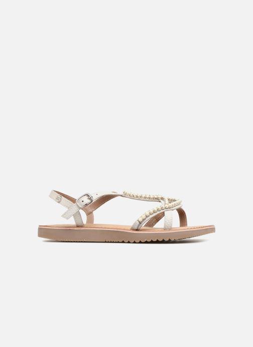 Sandales et nu-pieds Gioseppo Hannah Blanc vue derrière