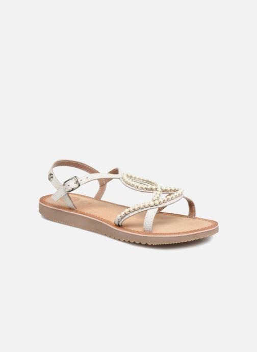 Sandales et nu-pieds Gioseppo Hannah Blanc vue détail/paire