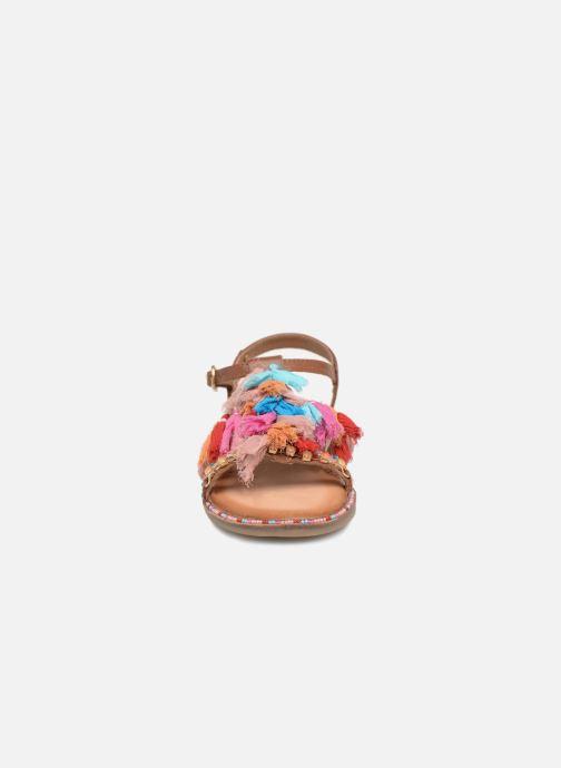 Sandalen Gioseppo Gina braun schuhe getragen