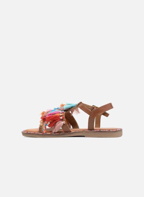 Sandali e scarpe aperte Gioseppo Gina Marrone immagine frontale