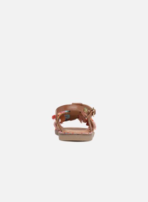 Sandali e scarpe aperte Gioseppo Gina Marrone immagine destra