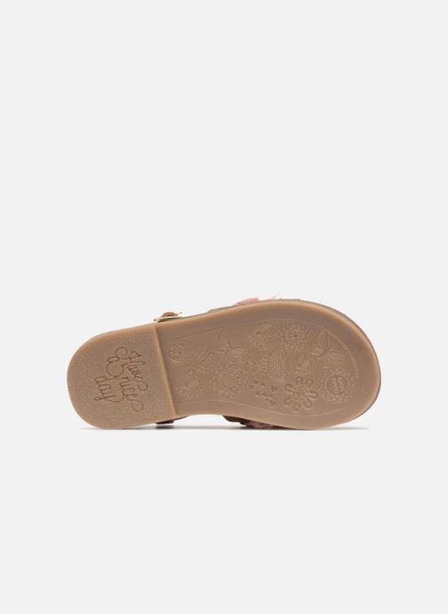 Sandali e scarpe aperte Gioseppo Gina Marrone immagine dall'alto