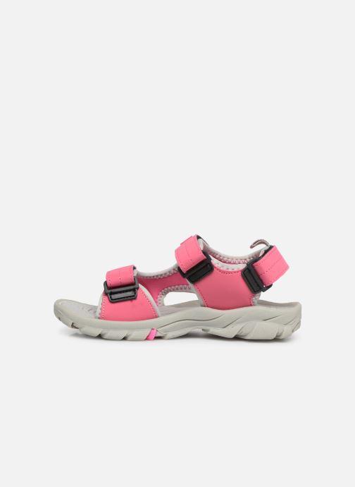 Sandales et nu-pieds Gioseppo Baltazar Rose vue face