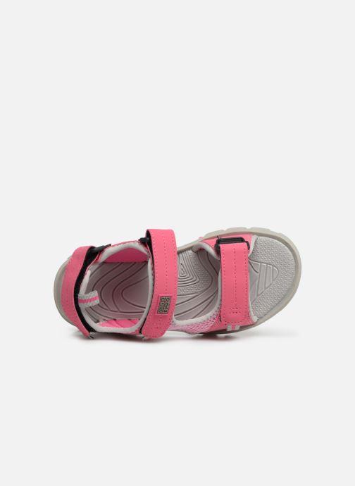 Sandales et nu-pieds Gioseppo Baltazar Rose vue gauche