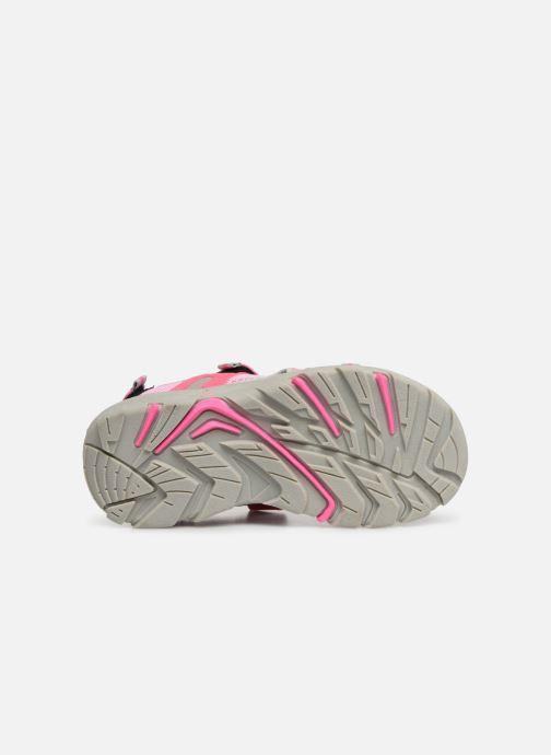 Sandales et nu-pieds Gioseppo Baltazar Rose vue haut