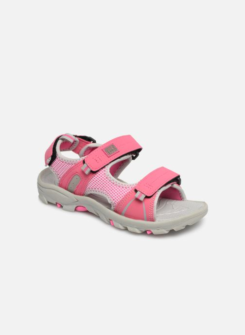 Sandales et nu-pieds Gioseppo Baltazar Rose vue détail/paire