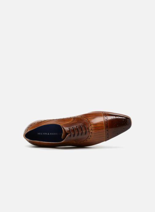 Chaussures à lacets Melvin & Hamilton Lewis 36 Marron vue gauche