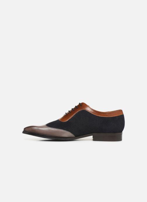 Zapatos con cordones Melvin & Hamilton Rico 8 Azul vista de frente