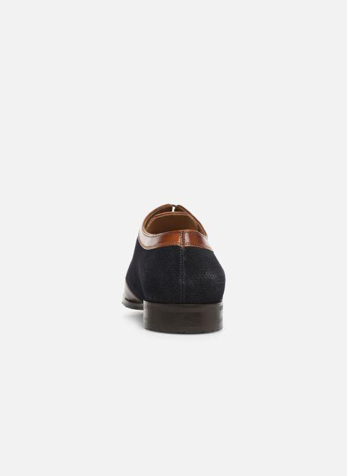 Zapatos con cordones Melvin & Hamilton Rico 8 Azul vista lateral derecha