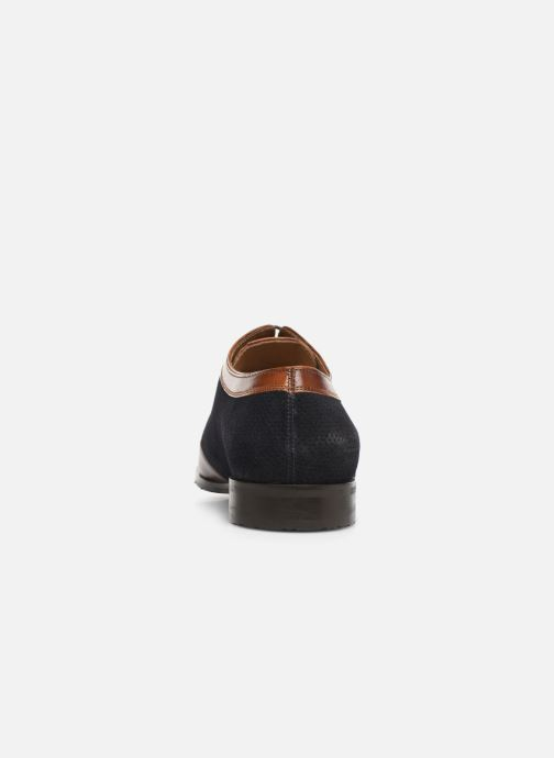 Lace-up shoes Melvin & Hamilton Rico 8 Blue view from the right