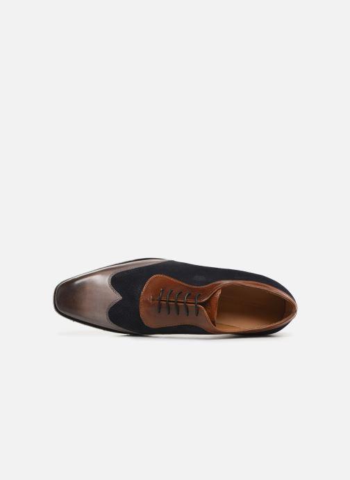 Zapatos con cordones Melvin & Hamilton Rico 8 Azul vista lateral izquierda