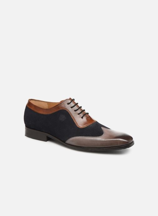 Lace-up shoes Melvin & Hamilton Rico 8 Blue detailed view/ Pair view