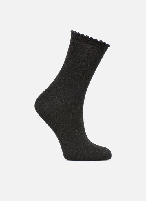 Socks & tights Pieces Chaussettes Sebby Glitter Long Black detailed view/ Pair view