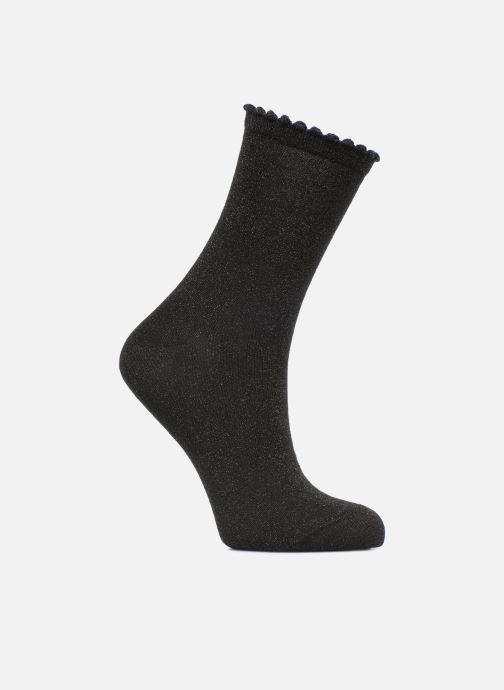 Strømper og tights Pieces Chaussettes Sebby Glitter Long Sort detaljeret billede af skoene