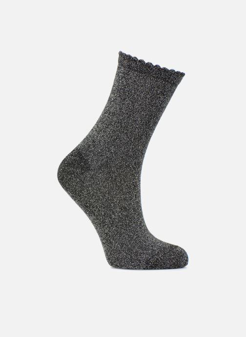 Chaussettes et collants Pieces Chaussettes Sebby Glitter Long Noir vue détail/paire