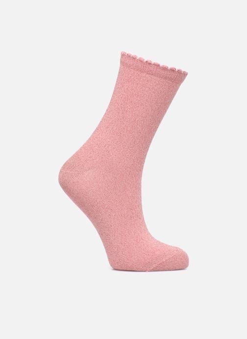Socken & Strumpfhosen Pieces Chaussettes Sebby Glitter Long rosa detaillierte ansicht/modell