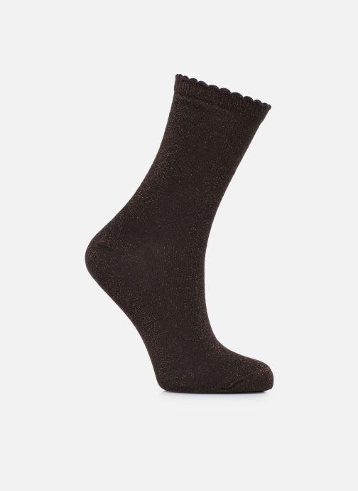 Chaussettes et collants Pieces Chaussettes Sebby Glitter Long Marron vue détail/paire