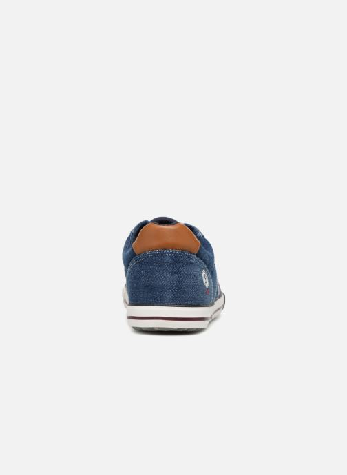 Trainers Tom Tailor Baste Blue view from the right