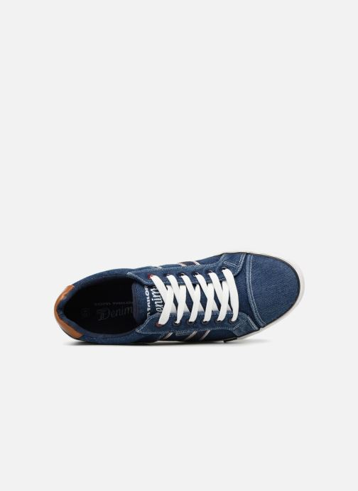 Trainers Tom Tailor Baste Blue view from the left