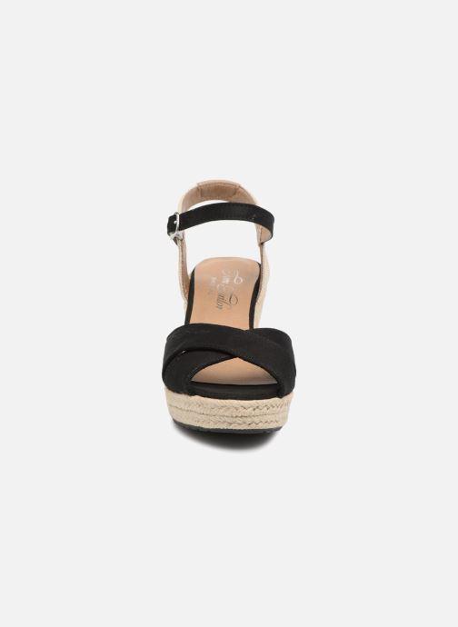 Sandales et nu-pieds Tom Tailor Margi Noir vue portées chaussures