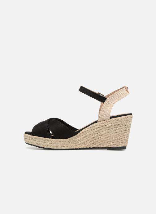 Sandals Tom Tailor Margi Black front view