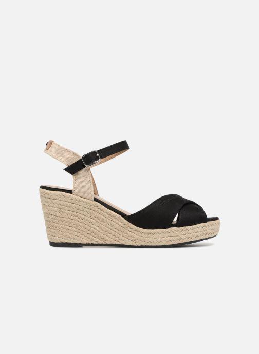 Sandales et nu-pieds Tom Tailor Margi Noir vue derrière