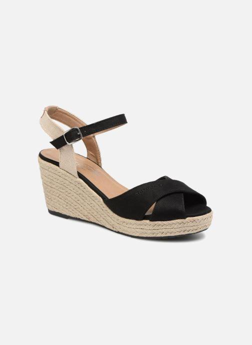 Sandales et nu-pieds Tom Tailor Margi Noir vue détail/paire
