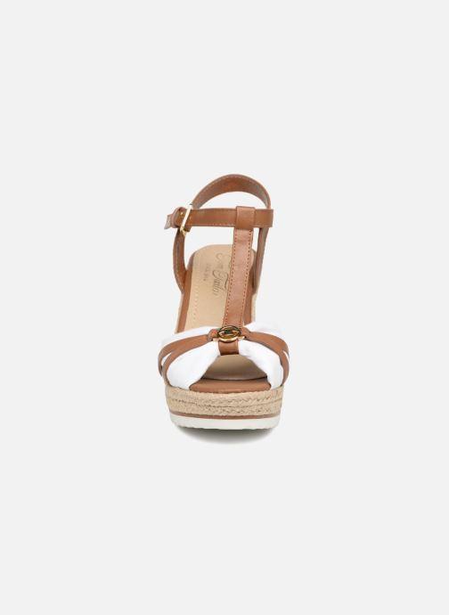 Espadrilles Tom Tailor Audra Blanc vue portées chaussures