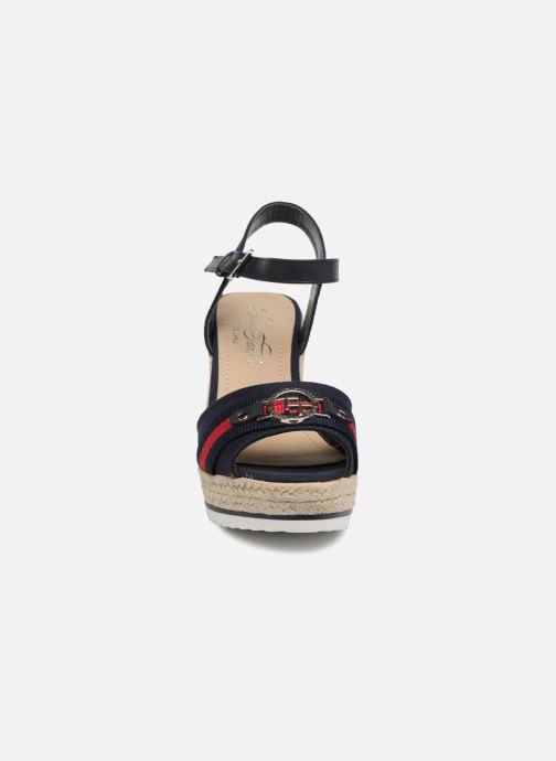 Sandales et nu-pieds Tom Tailor Utopia Bleu vue portées chaussures