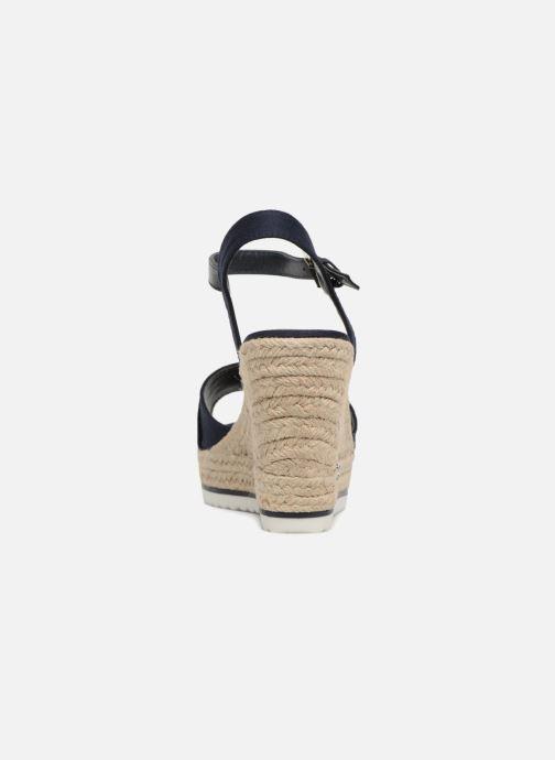 Sandales et nu-pieds Tom Tailor Utopia Bleu vue droite