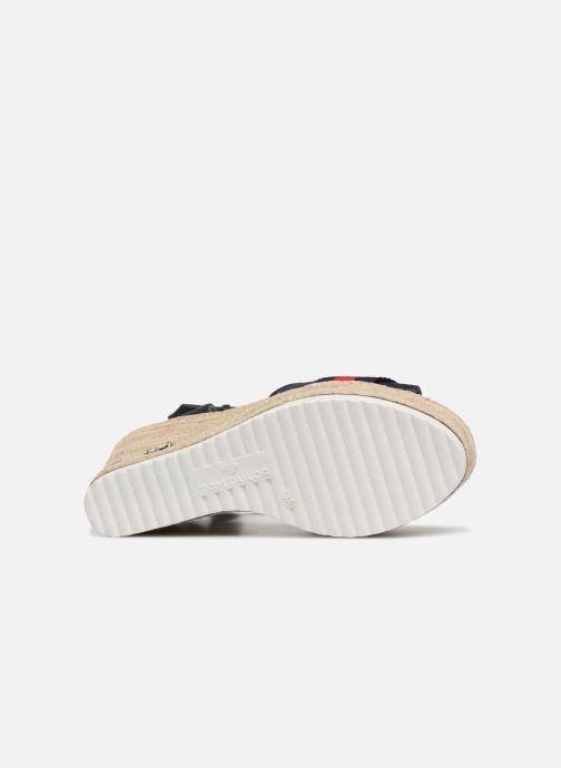Sandales et nu-pieds Tom Tailor Utopia Bleu vue haut
