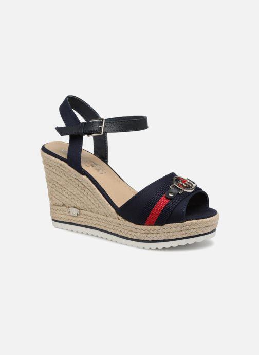 Sandales et nu-pieds Tom Tailor Utopia Bleu vue détail/paire