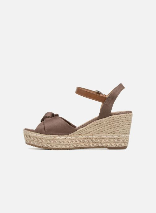 Espadrilles Tom Tailor Mathu Marron vue face