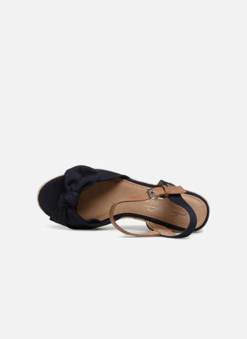 Espadrilles Tom Tailor Mathu Blauw links