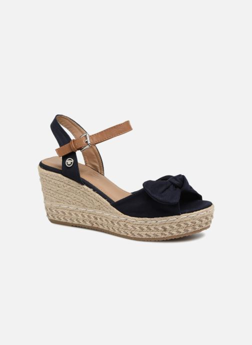 Espadrilles Tom Tailor Mathu Blauw detail