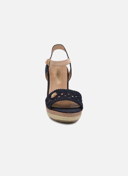Espadrilles Tom Tailor Aly Bleu vue portées chaussures