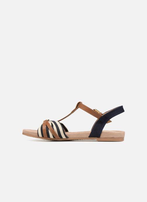 Sandales et nu-pieds Tom Tailor Joana Bleu vue face