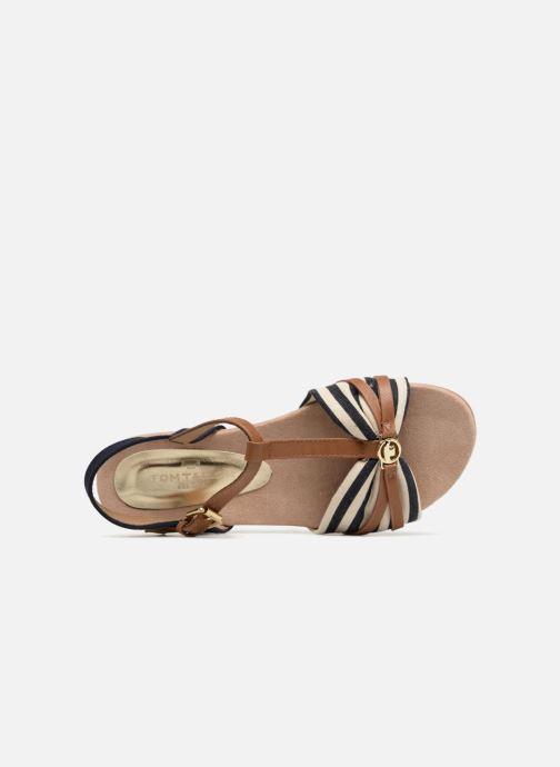 Sandales et nu-pieds Tom Tailor Joana Bleu vue gauche