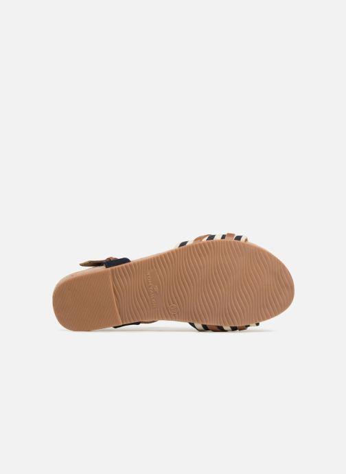 Sandales et nu-pieds Tom Tailor Joana Bleu vue haut