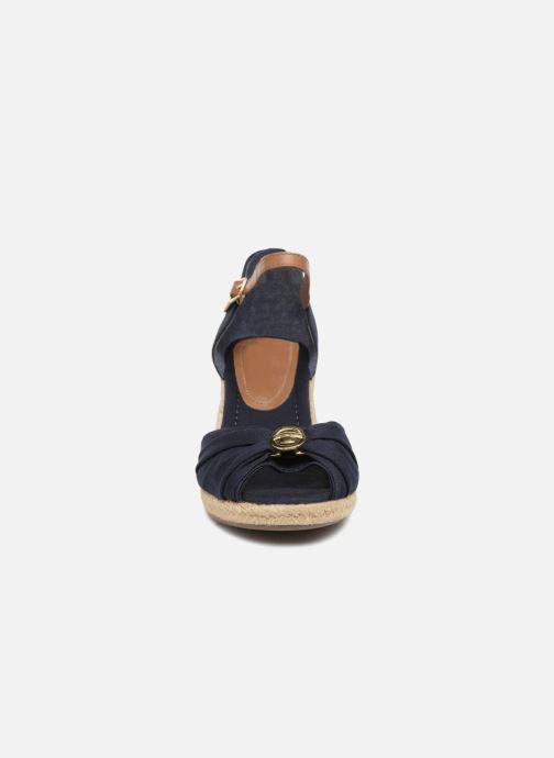 Espadrilles Tom Tailor Astrida Bleu vue portées chaussures