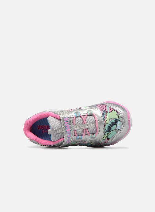 Sportschoenen Skechers Lumi-Luxe Zilver links