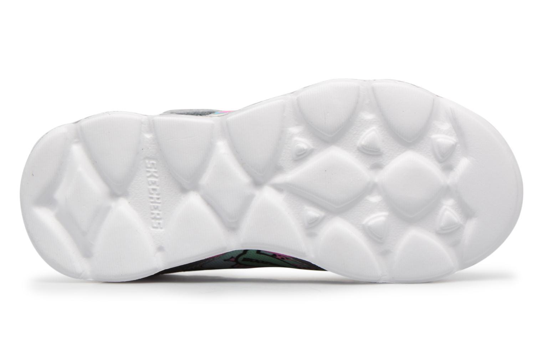 Scarpe sportive Skechers Lumi-Luxe Argento immagine dall'alto