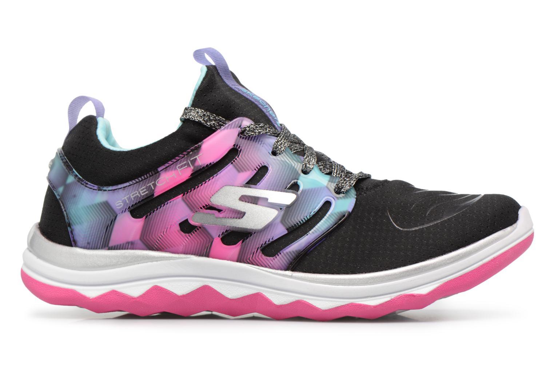 Chaussures de sport Skechers Diamond Runner Noir vue derrière