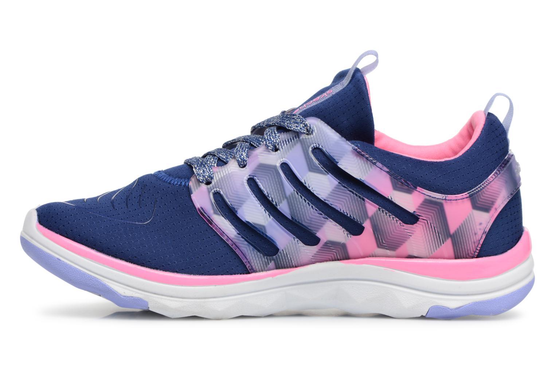 Chaussures de sport Skechers Diamond Runner Bleu vue face